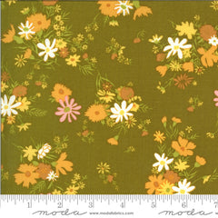 A Blooming Bunch Avocado Easy Breezy by Maureen McCormick for Moda Fabrics