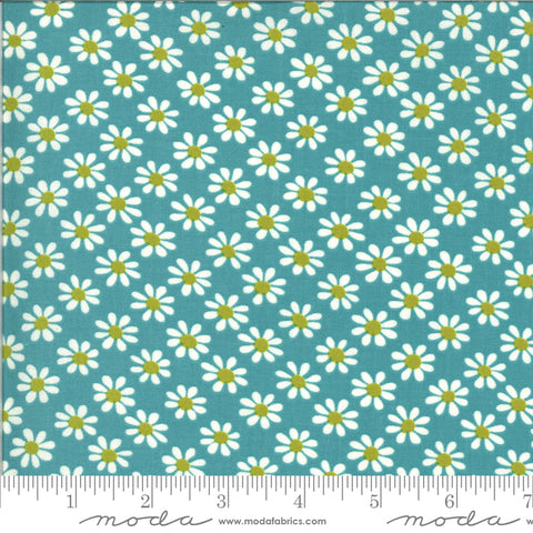 A Blooming Bunch Surf Groovy Yardage by Maureen McCormick for Moda Fabrics