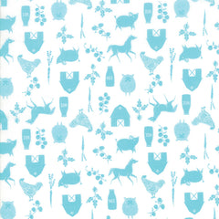 Farm Charm Cloud Pond Farm Charm Yardage by Gingiber for Moda Fabrics