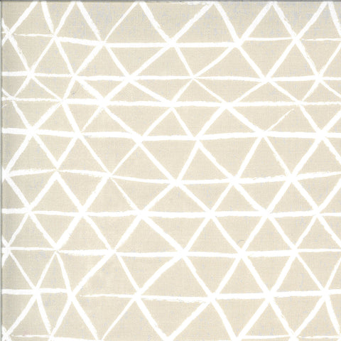 Zoology Feather Rustic Triangle Yardage by Gingiber for Moda Fabrics