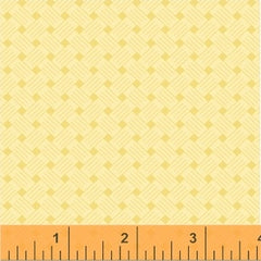 Honey Maple Butter Basket Weave Yardage by Whistler Studios for Windham Fabrics