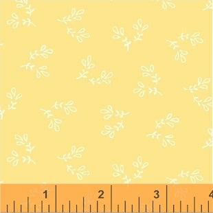 Honey Maple Honey Leaf Spray Yardage by Whistler Studios for Windham Fabrics