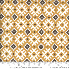 Folktale Golden Gypsy Kiss Yardage by Lella Boutique for Moda Fabrics
