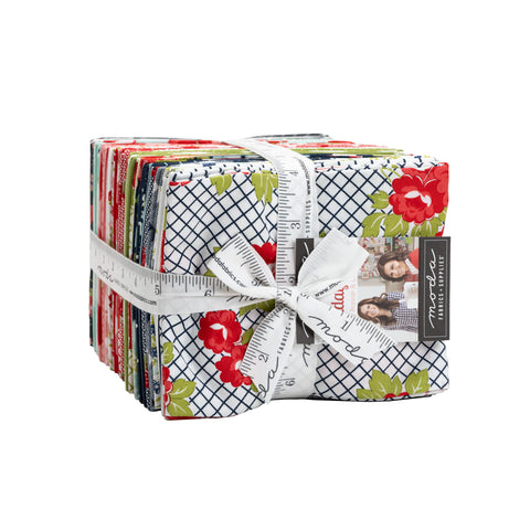 PREORDER Sunday Stroll Fat Quarter Bundle by Bonnie & Camille for Moda Fabrics