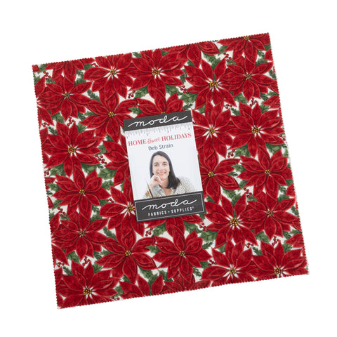 PREORDER Home Sweet Holidays Layer Cake by Deb Strain for Moda Fabrics
