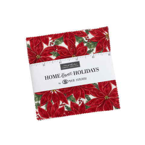 PREORDER Home Sweet Holidays Charm Pack by Deb Strain for Moda Fabrics
