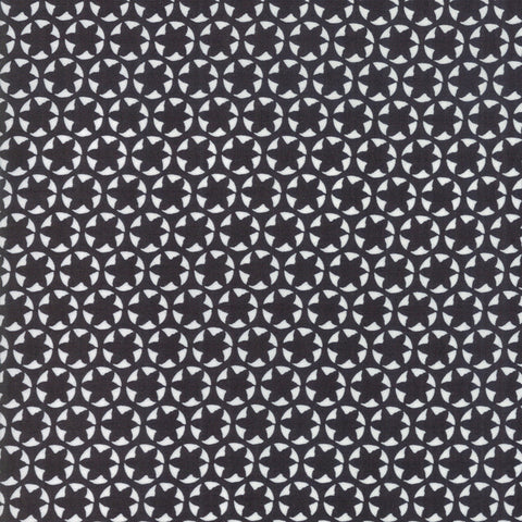 The Print Shop Black Watermark yardage by Sweetwater for Moda Fabrics