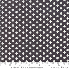 The Christmas Card Black Crosses Yardage by Sweetwater for Moda Fabrics