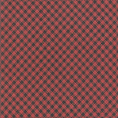 Branded Apple Red Picnic Check Yardage by Sweetwater for Moda Fabrics