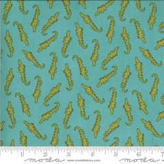 Animal Crackers Splash Alligator Yardage by Sweetwater for Moda Fabrics