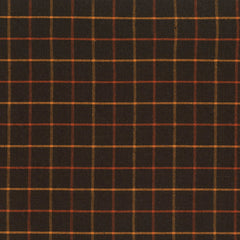 Pumpkin Patch Plaids Black Tattersall Yardage by Renee Nanneman for Andover Fabrics