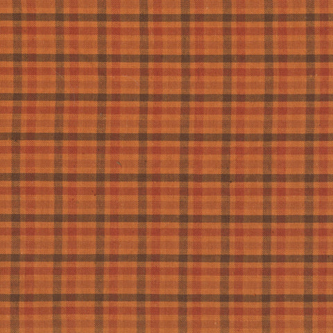 Pumpkin Patch Plaids Fall Club Check Yardage by Renee Nanneman for Andover Fabrics
