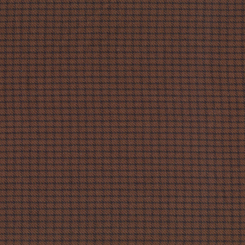 Pumpkin Patch Plaids Moss Checkered Yardage by Renee Nanneman for Andover Fabrics