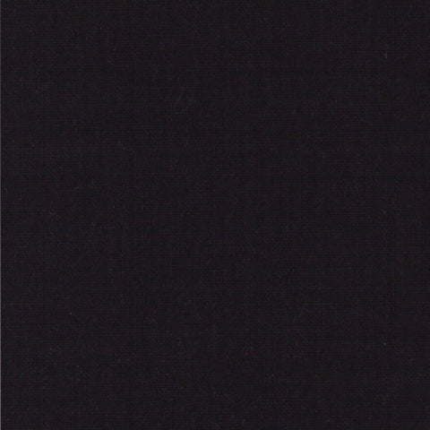 Bella Solids Black Yardage by Moda Fabrics
