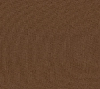 Bella Solids Chocolate Yardage by Moda Fabrics