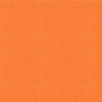 Bella Solids Orange Yardage by Moda Fabrics