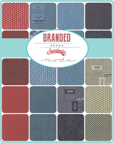 PREORDER Branded Fat Quarter Bundle by Sweetwater for Moda Fabrics