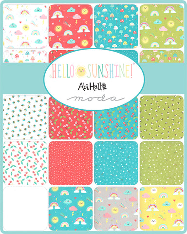 Hello Sunshine Layer Cake by Abi Hall for Moda Fabrics