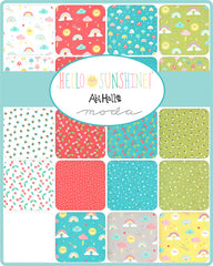 Hello Sunshine Fat Quarter Bundle by Abi Hall for Moda Fabrics