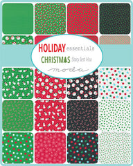 Holiday Essentials Christmas Charm Pack by Staci Iest Hsu for Moda Fabrics