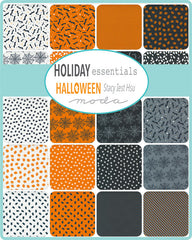PREORDER Holiday Essentials Halloween Mini Charm Pack by Staci Iest Hsu for Moda Fabrics