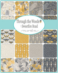 PREORDER Through The Woods Mini Charm Pack by Sweetfire Road for Moda Fabrics