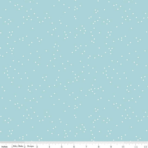 Blossom Aqua Yardage by Christopher Thompson for Riley Blake Designs