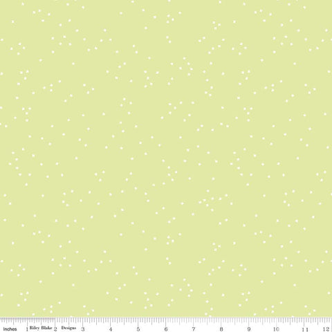 Blossom Celery Yardage by Christopher Thompson for Riley Blake Designs