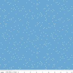 Blossom Medium Blue Yardage by Christopher Thompson for Riley Blake Designs