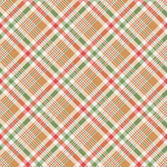 Happy Fall Y'All Multi Plaid yardage by Timeless Treasures Collection