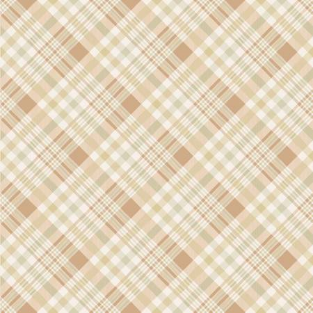 Happy Fall Y'All Natural Plaid yardage by Timeless Treasures Collection