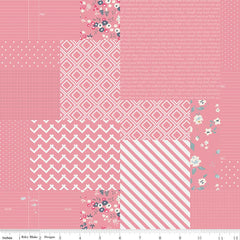 Someday Pink Graphic yardage by Minki Kim for Riley Blake Designs