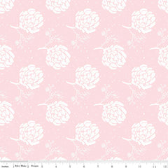 Serenade Blush Floret yardage by Cyndi Walker for Riley Blake Designs