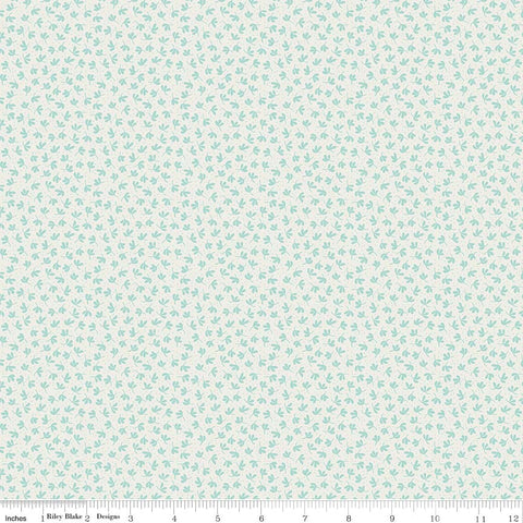 Serenade Mint Ditsy yardage by Cyndi Walker for Riley Blake Designs