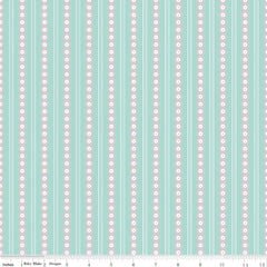 Serenade Mint Stripe yardage by Cyndi Walker for Riley Blake Designs