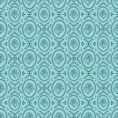 Flutter and Shine Aqua Cottage Yardage by Melanie Collette for Riley Blake Designs