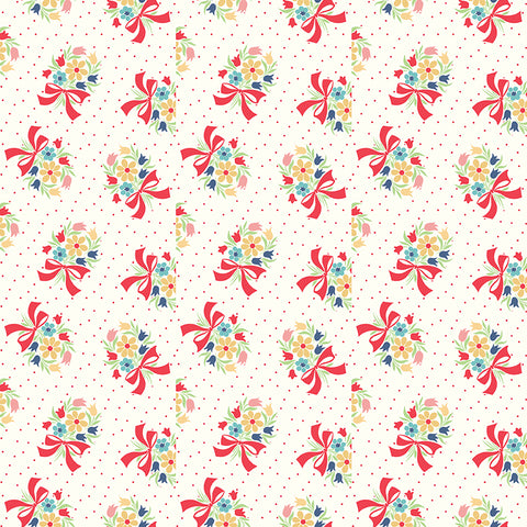 Vintage Happy 2 Cloud Bouquet Yardage by Lori Holt for Riley Blake Designs