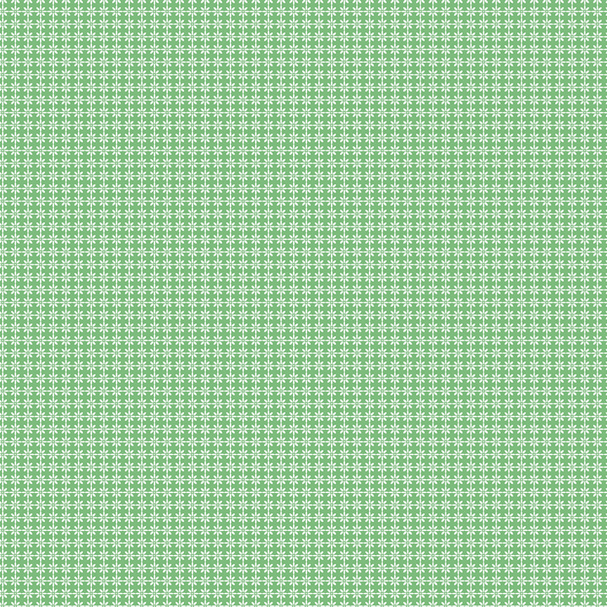 Winifred Rose Green Tile Yardage by Christopher Thompson for Riley Blake Designs