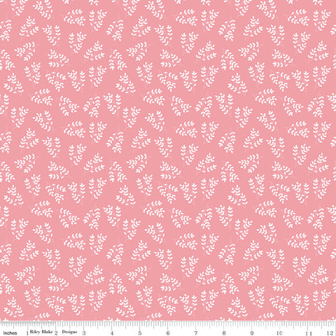 Singing In The Rain Pink Stems Yardage by Beverly McCullough for Riley Blake