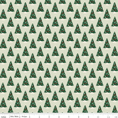 Christmas Traditions Mint Trees Yardage by Dani Mogstad for Riley Blake Designs