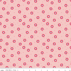 Golden Aster Pink Daisy Yardage by Gabrielle Neil for Riley Blake Designs