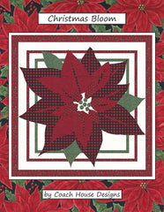 Christmas Bloom Quilt Pattern by Coach House
