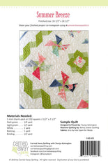 Summer Breeze Mini Quilt Pattern by Taunja Kelvington of Carried Away Quilting
