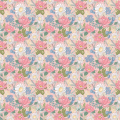 Country Roads Pink Country Roads Yardage by Poppie Cotton Fabrics