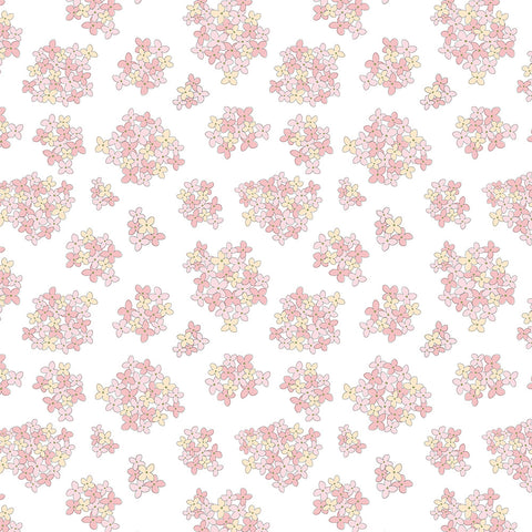 Country Roads White Almost Heaven Yardage by Lori Woods for Poppie Cotton Fabrics