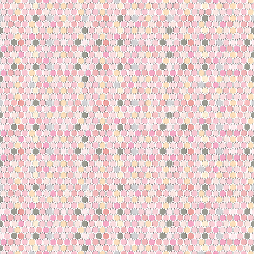 Country Roads Pink River Yardage by Poppie Cotton Fabrics