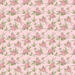 Country Roads Pink Shenandoa Yardage by Poppie Cotton Fabrics