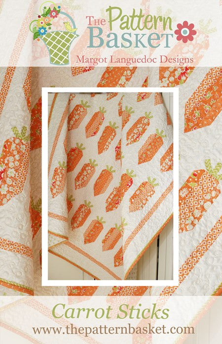 Carrot Sticks Quilt Pattern by The Pattern Basket