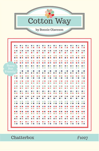 Chatterbox Quilt Pattern by Cotton Way