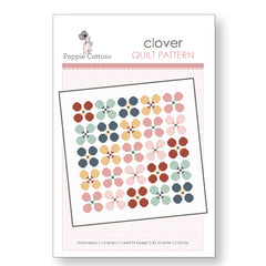 Clover Quilt Pattern by Poppie Cotton Fabrics